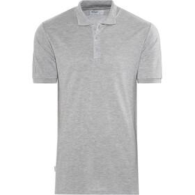 Bergans Valmue Piquè Shirt Herren grey melange